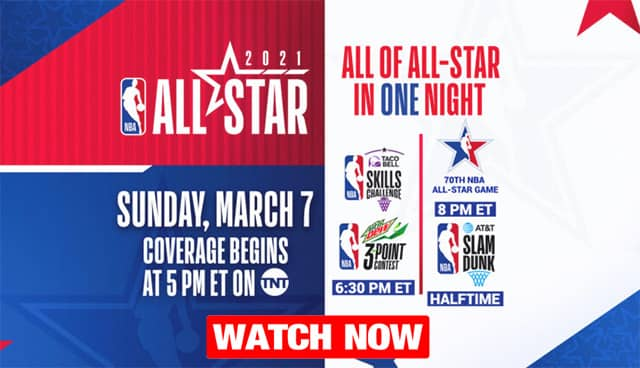 NBA All Star Game 2021 live
